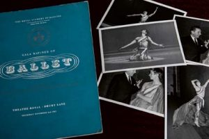 Collage of photos and gala programme