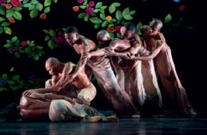 The Alvin Ailey company in Ode