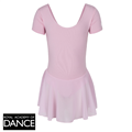 skirted lilac leotard
